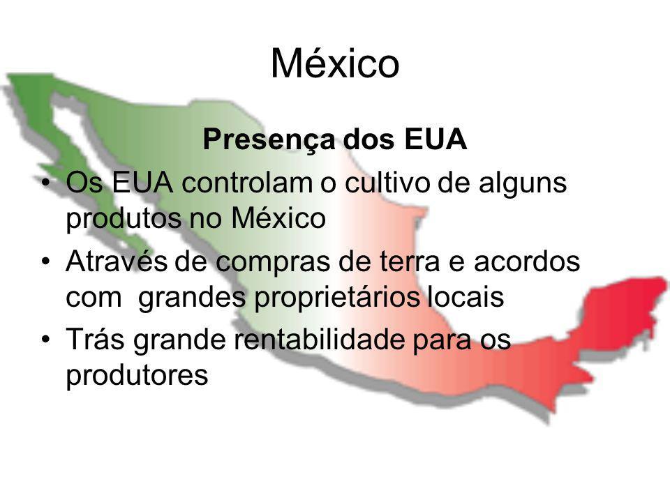 México Presença dos EUA