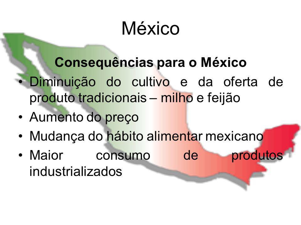 Consequências para o México