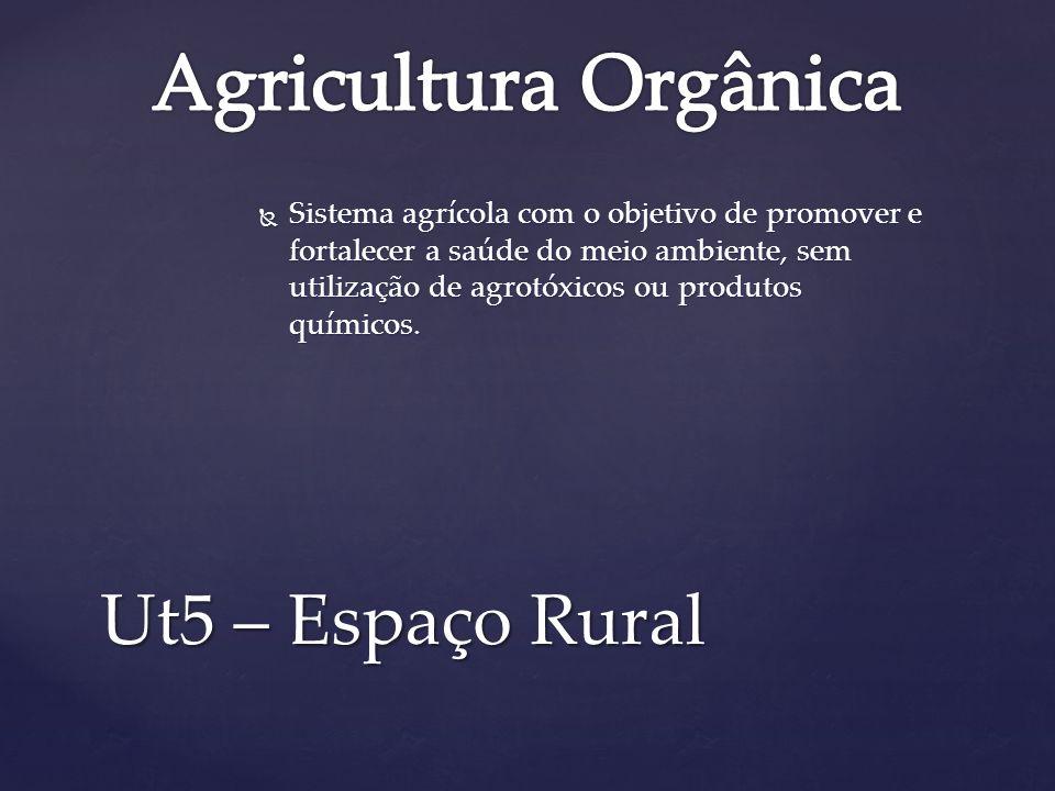 Agricultura Orgânica Ut5 – Espaço Rural