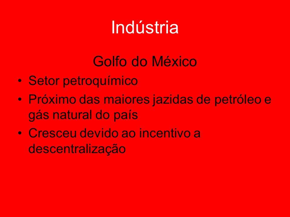 Indústria Golfo do México Setor petroquímico