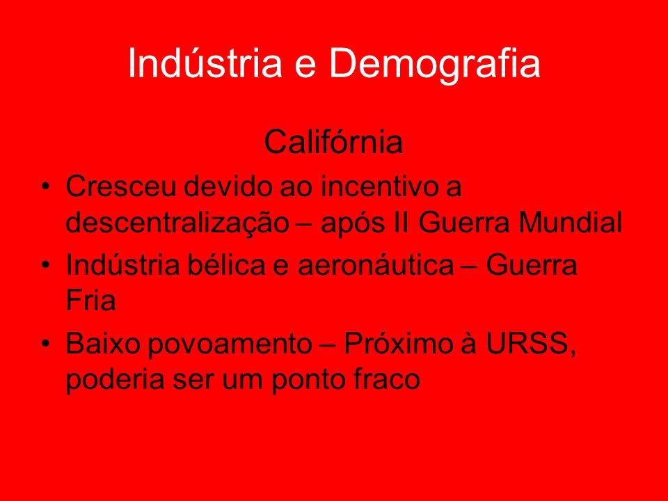 Indústria e Demografia