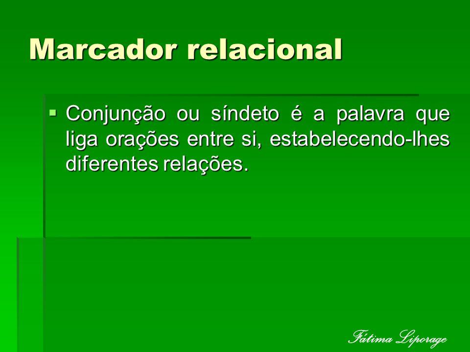 Marcador relacional Fátima Liporage
