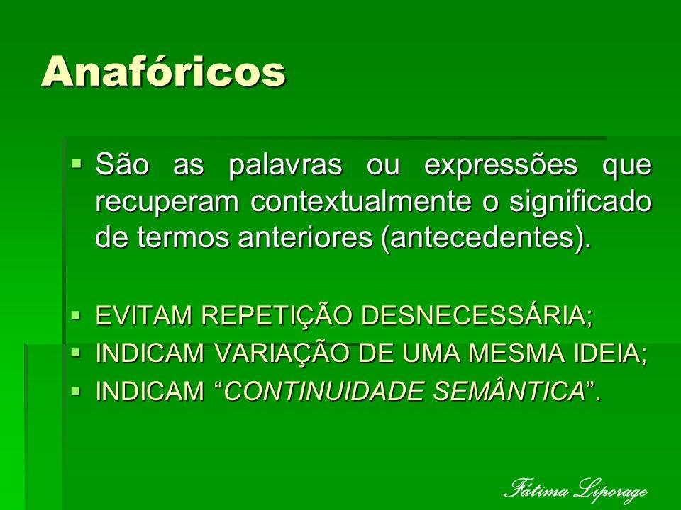 Anafóricos Fátima Liporage
