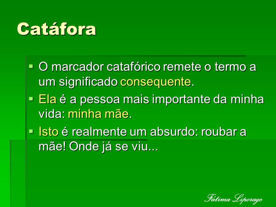 Catáfora Fátima Liporage