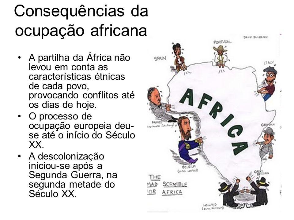 Consequências da ocupação africana