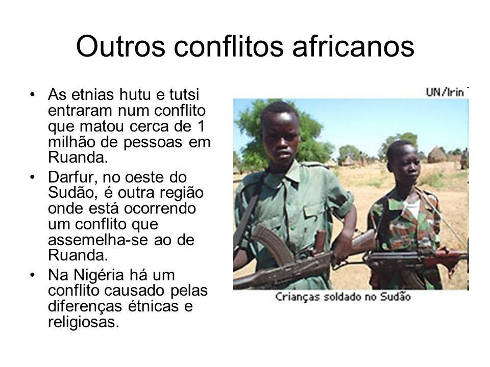 Outros conflitos africanos