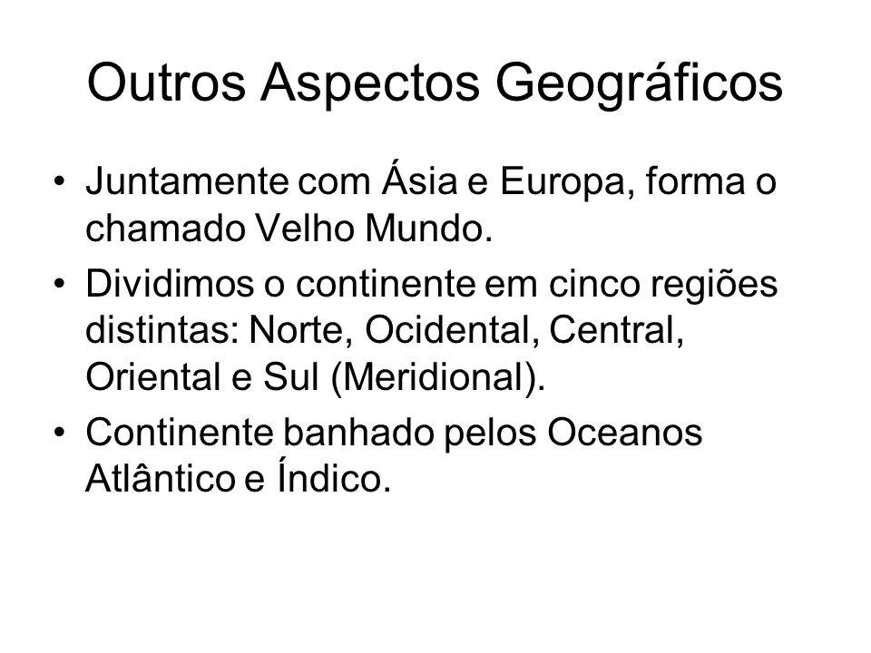 Outros Aspectos Geográficos