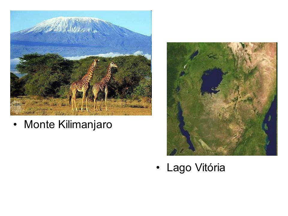 Monte Kilimanjaro Lago Vitória