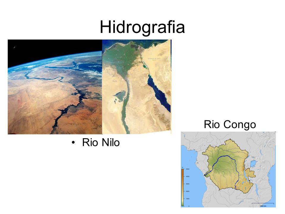 Hidrografia Rio Congo Rio Nilo