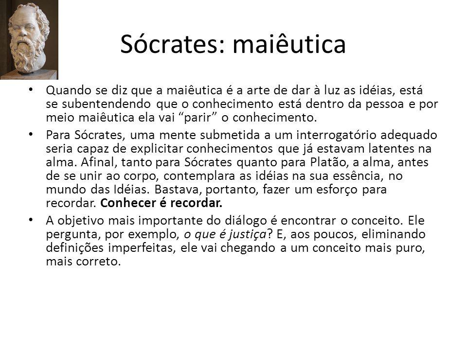 Sócrates: maiêutica