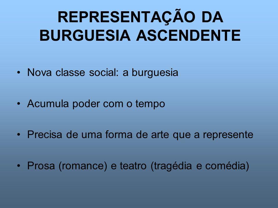 REPRESENTAÇÃO DA BURGUESIA ASCENDENTE