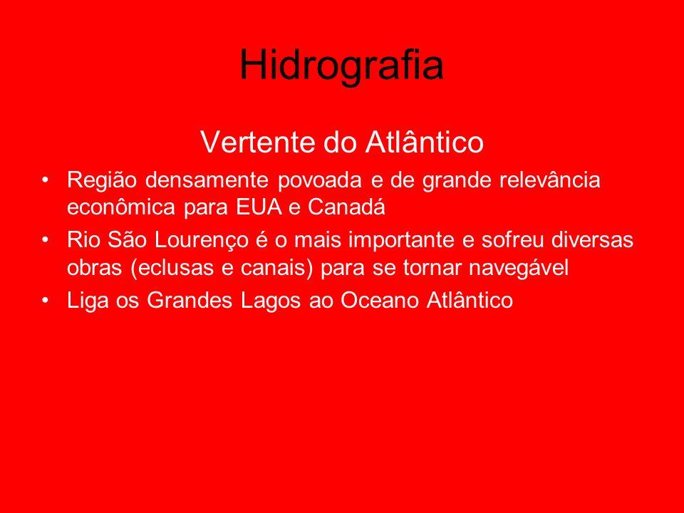 Hidrografia Vertente do Atlântico