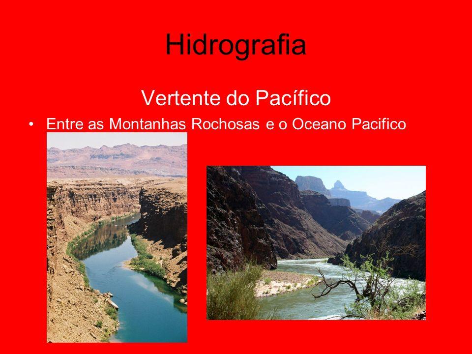 Hidrografia Vertente do Pacífico