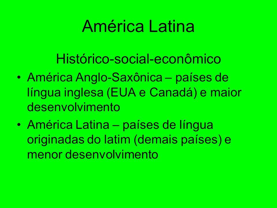 Histórico-social-econômico