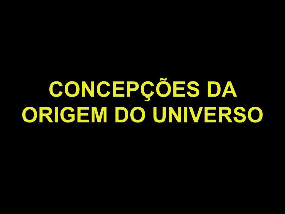 CONCEPÇÕES DA ORIGEM DO UNIVERSO
