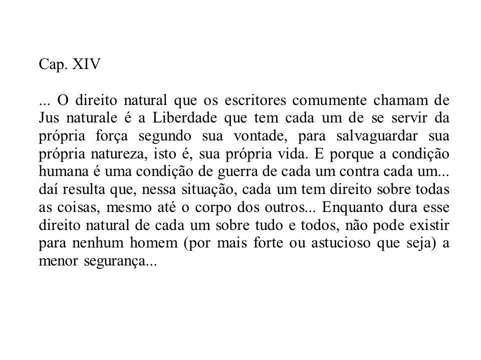 Cap. XIV