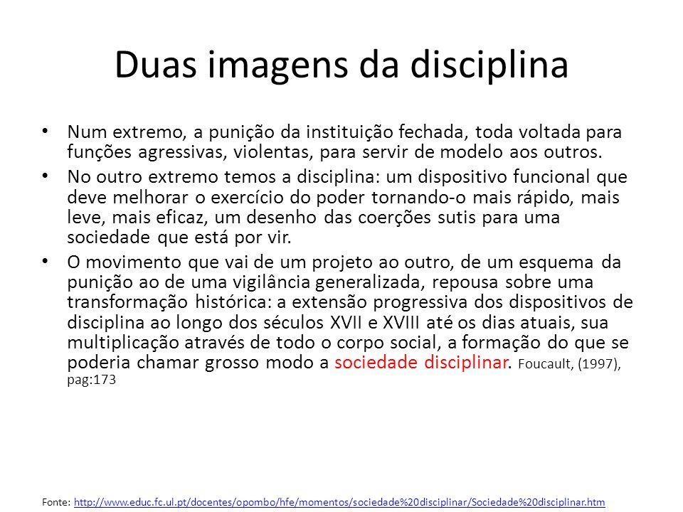 Duas imagens da disciplina