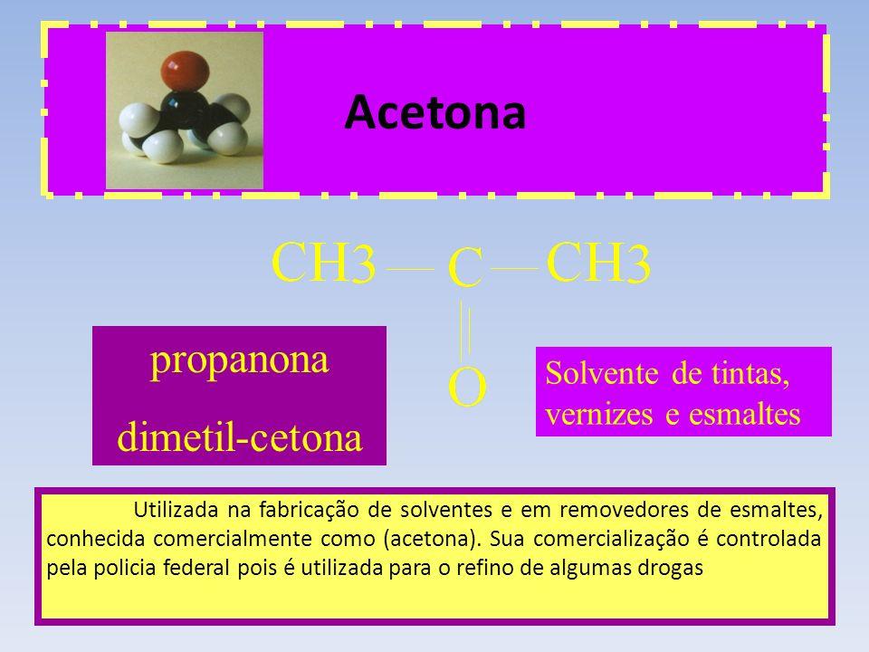 Acetona propanona dimetil-cetona