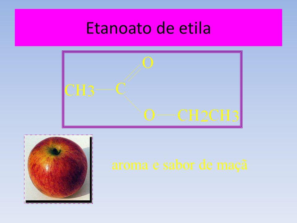 Etanoato de etila aroma e sabor de maçã
