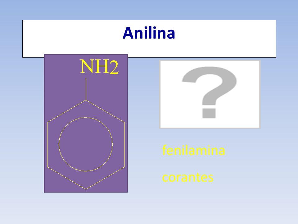 Anilina fenilamina corantes