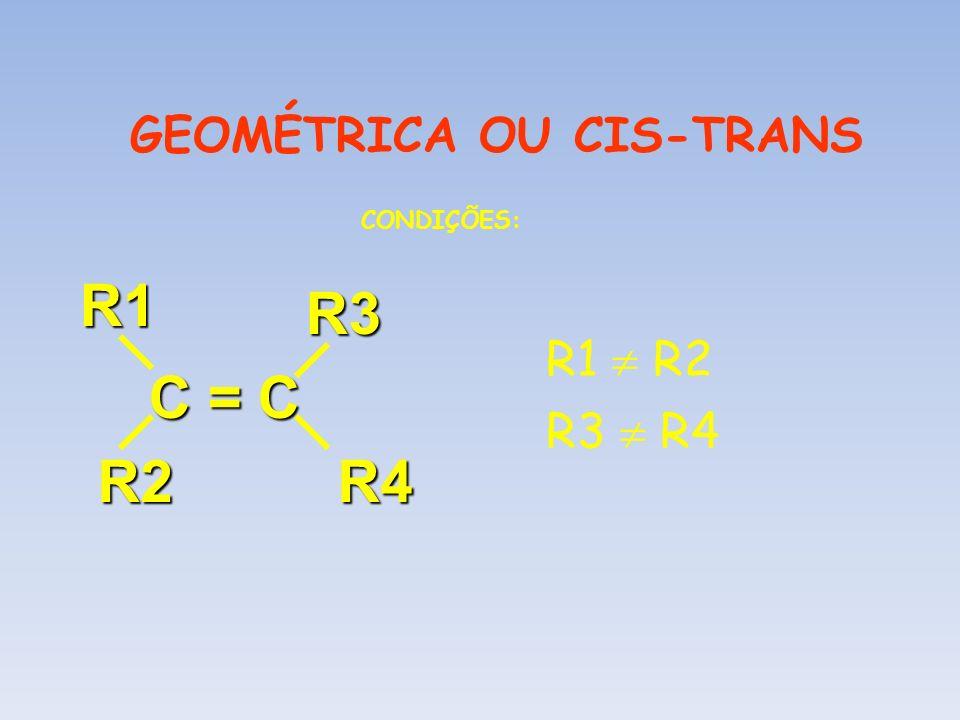 GEOMÉTRICA OU CIS-TRANS