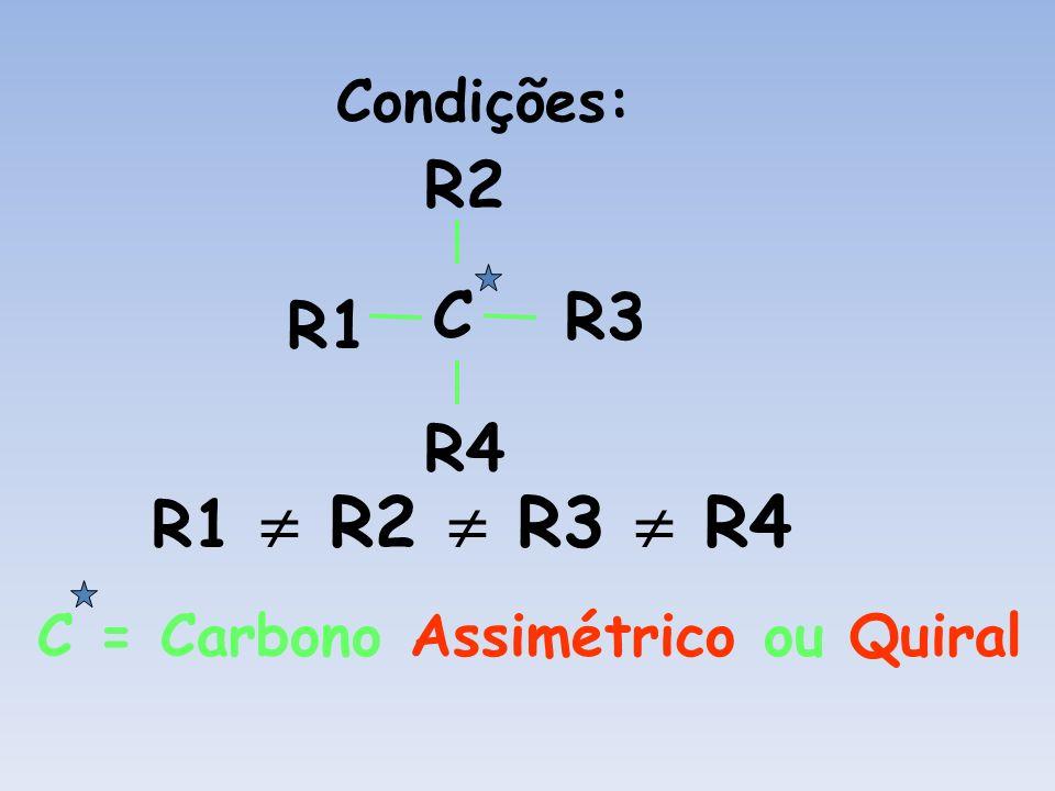 R2 C R3 R1 R4 R1  R2  R3  R4 Condições: