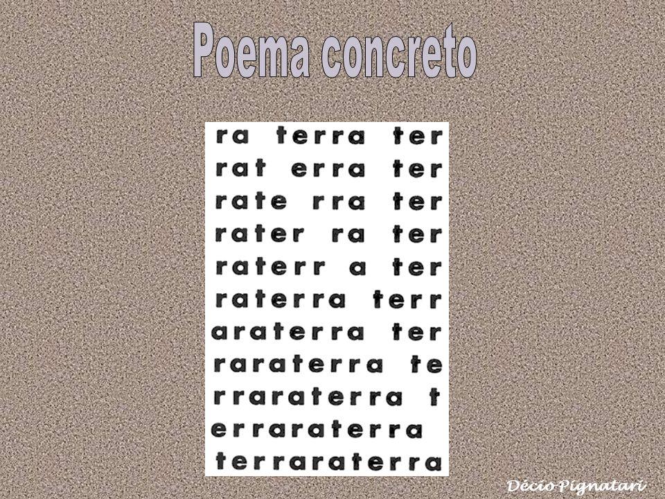 Poema concreto Décio Pignatari