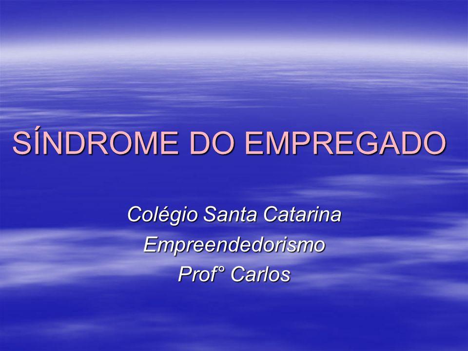 Colégio Santa Catarina Empreendedorismo Prof° Carlos