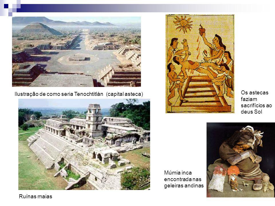 Os astecas faziam sacrifícios ao deus Sol