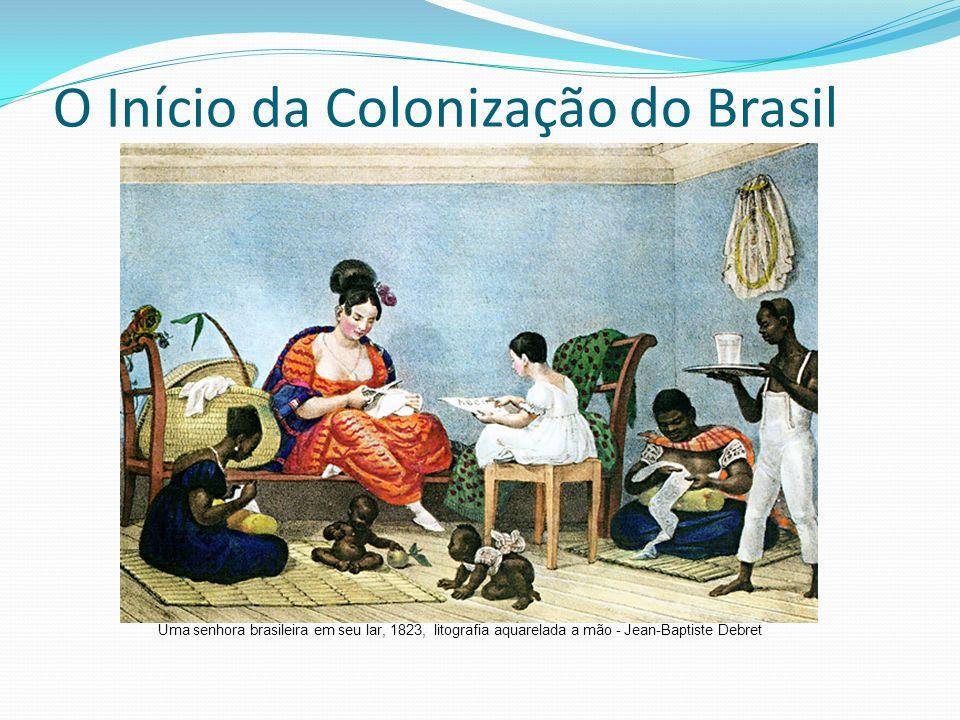 O Início da Colonização do Brasil