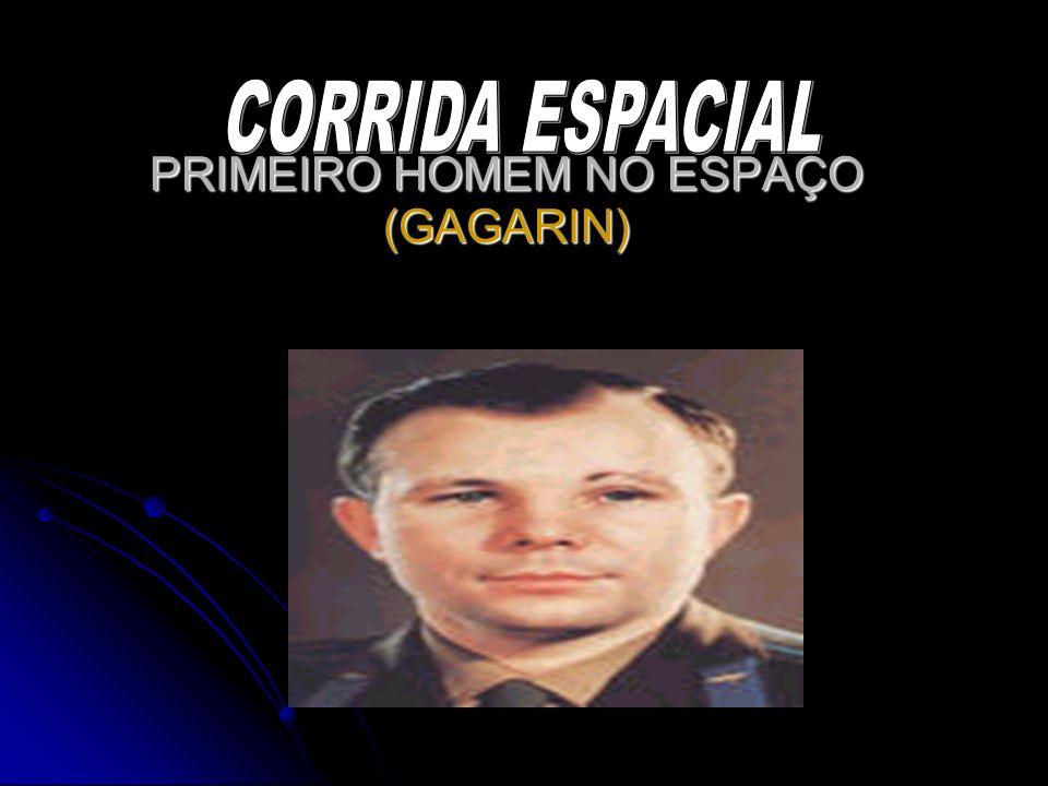 PRIMEIRO HOMEM NO ESPAÇO (GAGARIN)