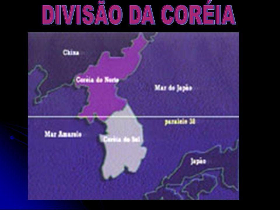 DIVISÃO DA CORÉIA