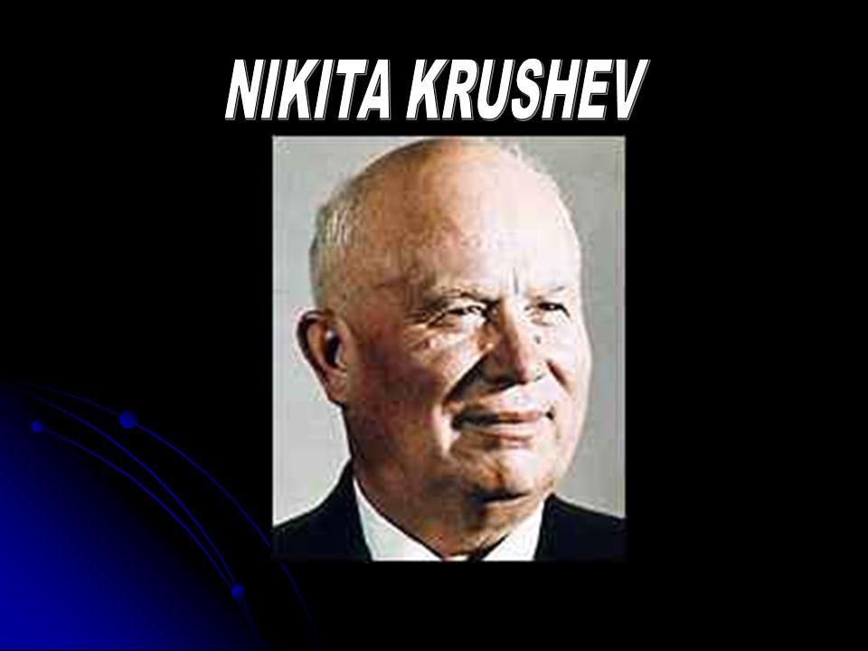 NIKITA KRUSHEV