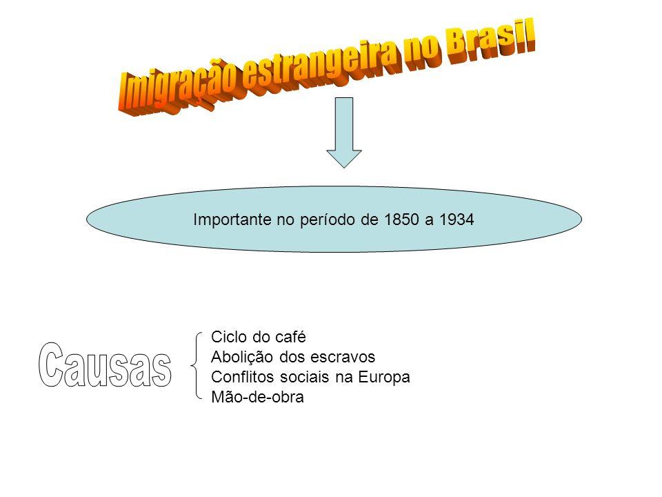 Imigração estrangeira no Brasil
