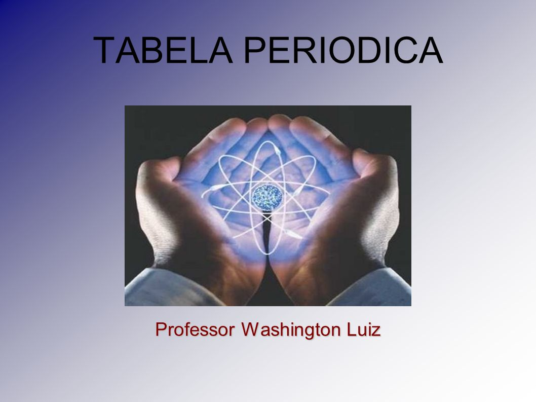 Professor Washington Luiz