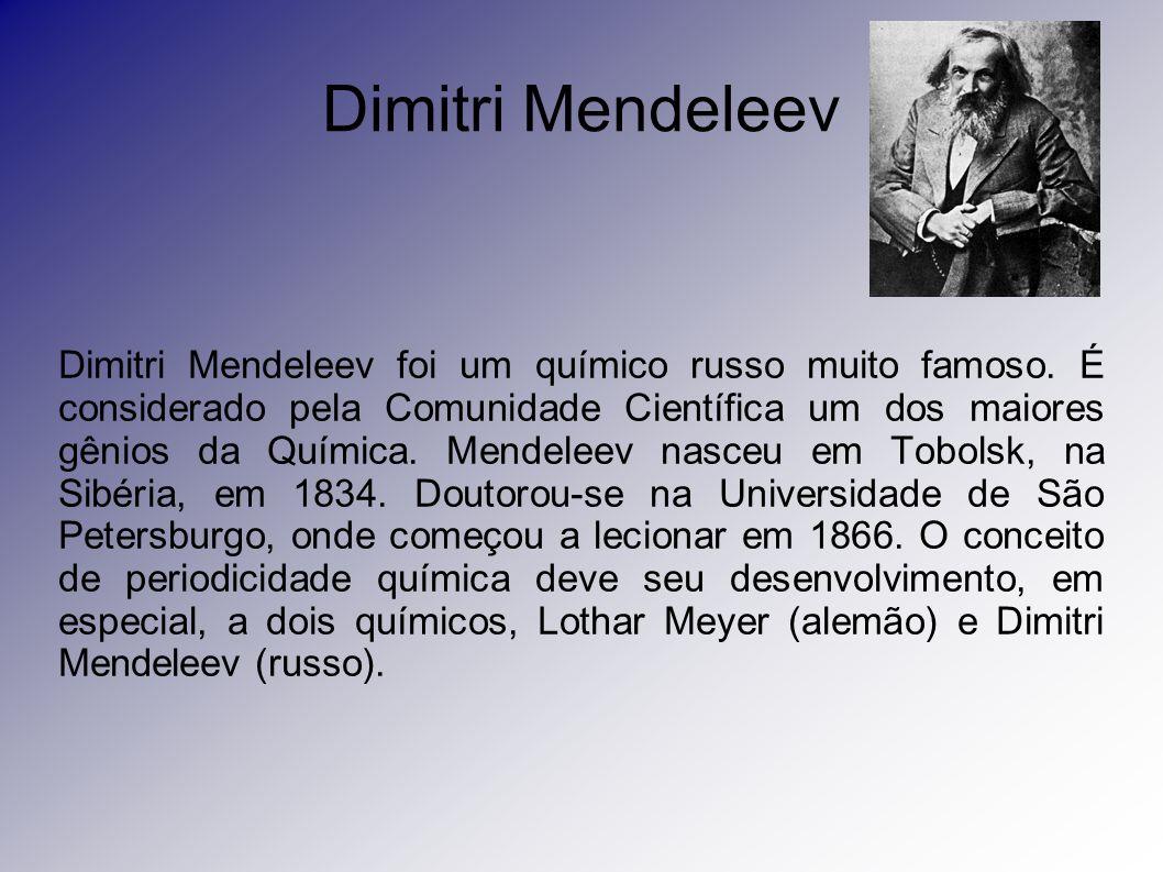 Dimitri Mendeleev