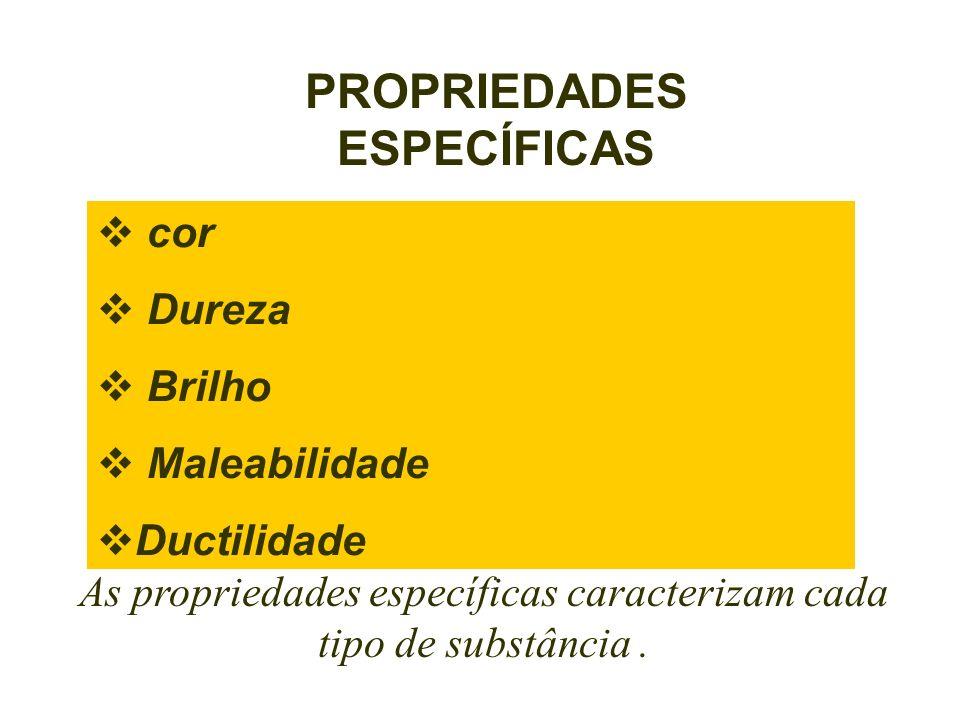 PROPRIEDADES ESPECÍFICAS