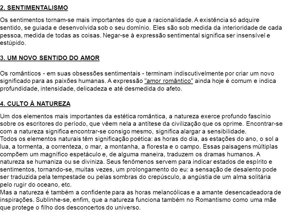 2. SENTIMENTALISMO