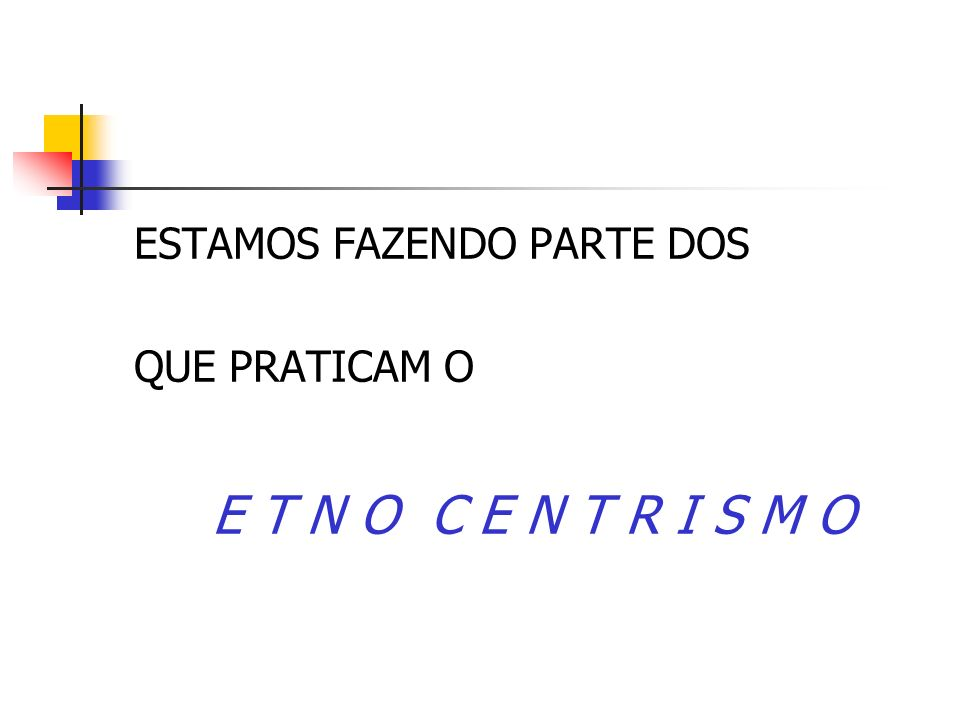 ESTAMOS FAZENDO PARTE DOS
