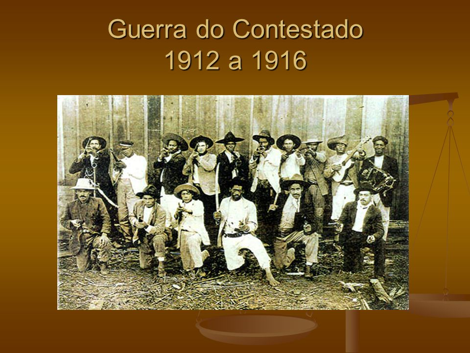 Guerra do Contestado 1912 a 1916