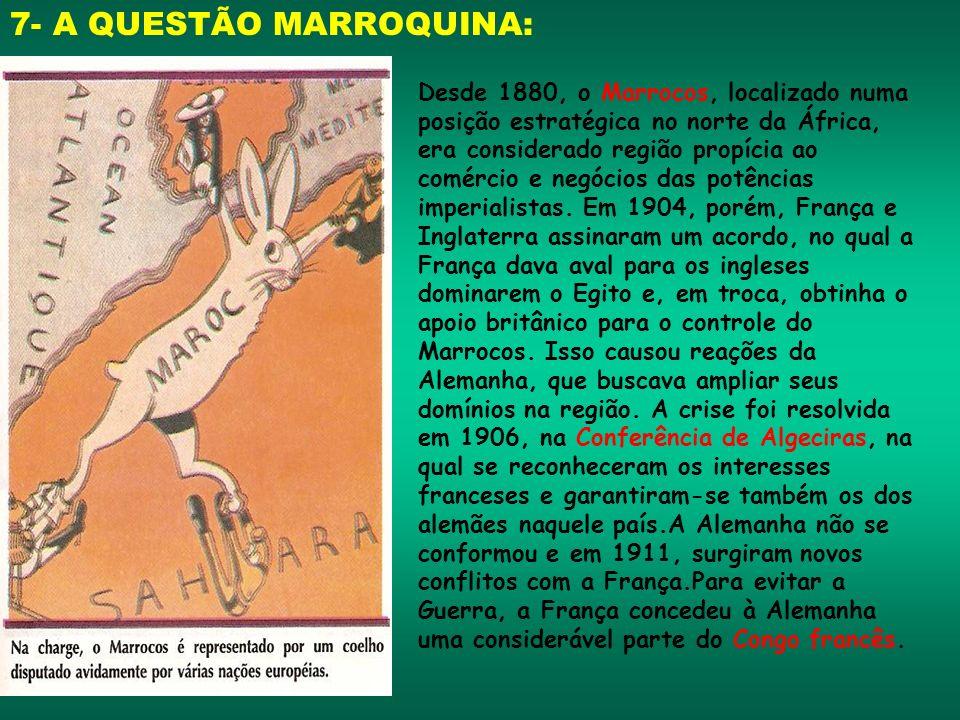7- A QUESTÃO MARROQUINA: