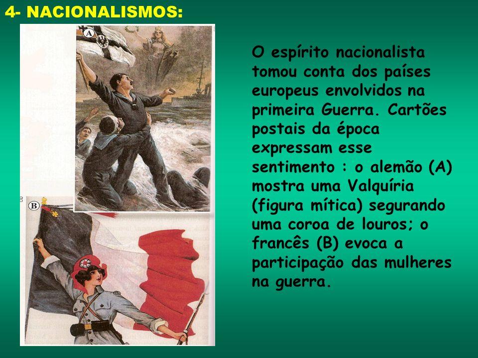 4- NACIONALISMOS: