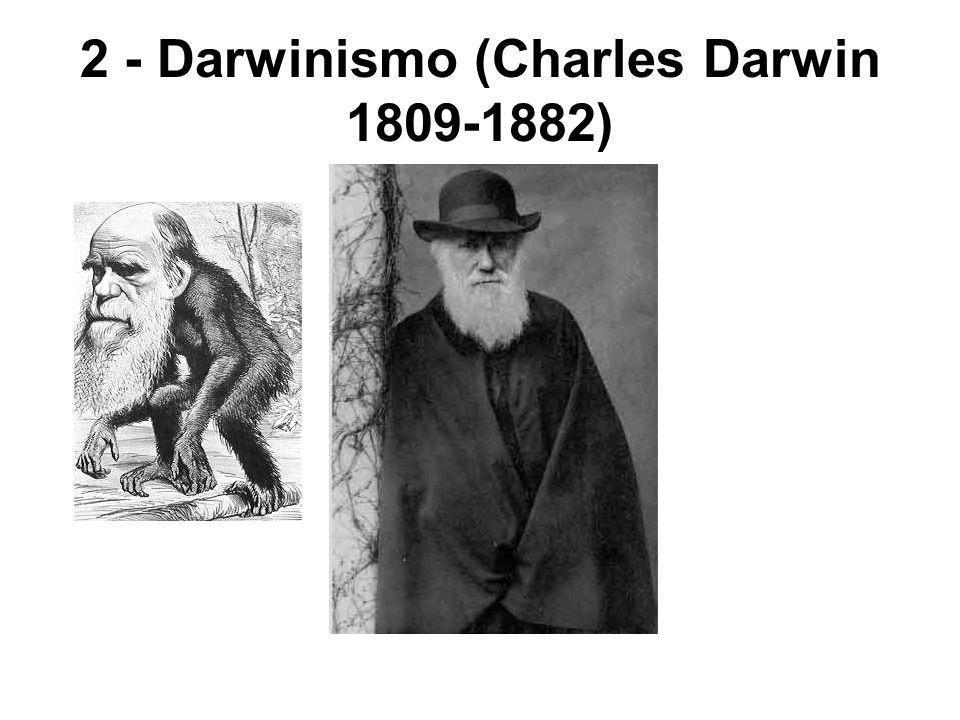 2 - Darwinismo (Charles Darwin 1809-1882)