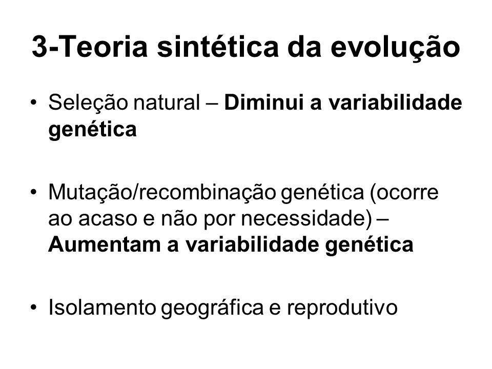 3-Teoria sintética da evolução