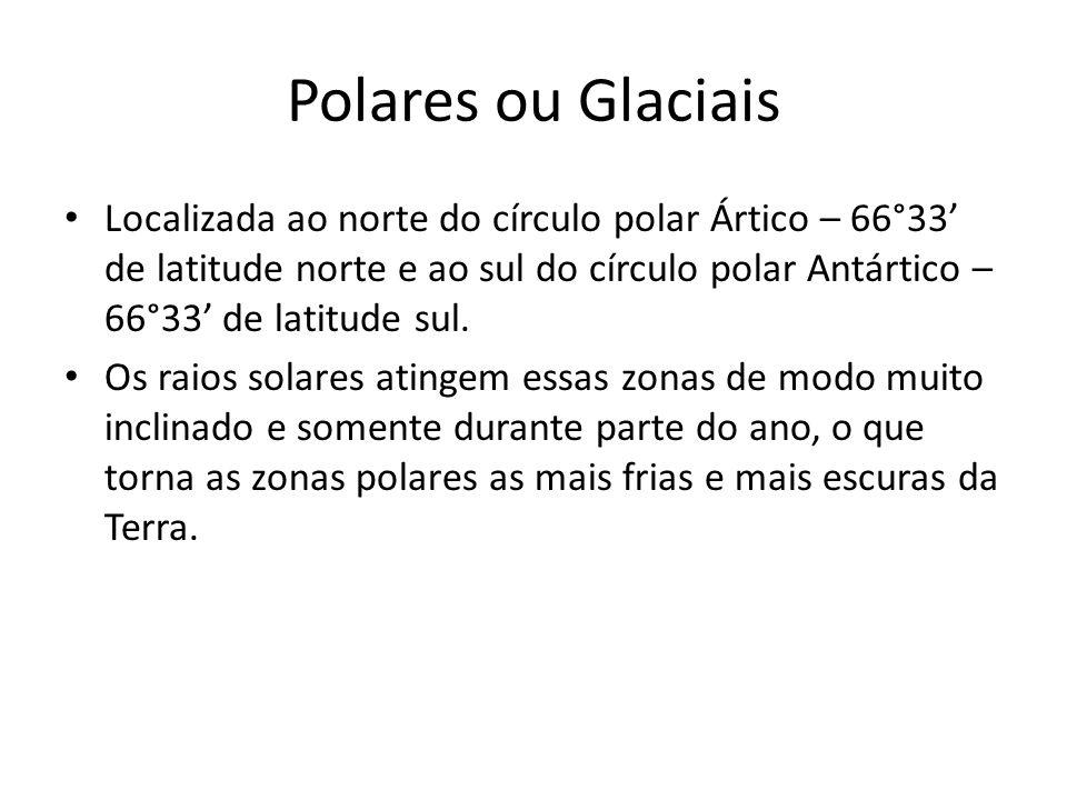 Polares ou Glaciais