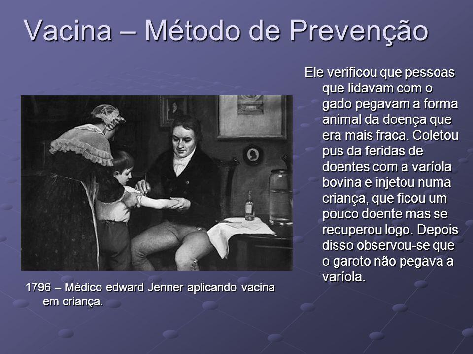 Vacina – Método de Prevenção