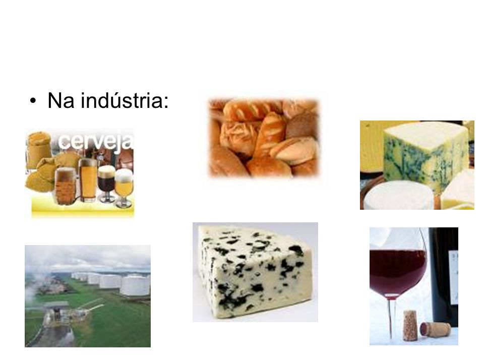 Na indústria: