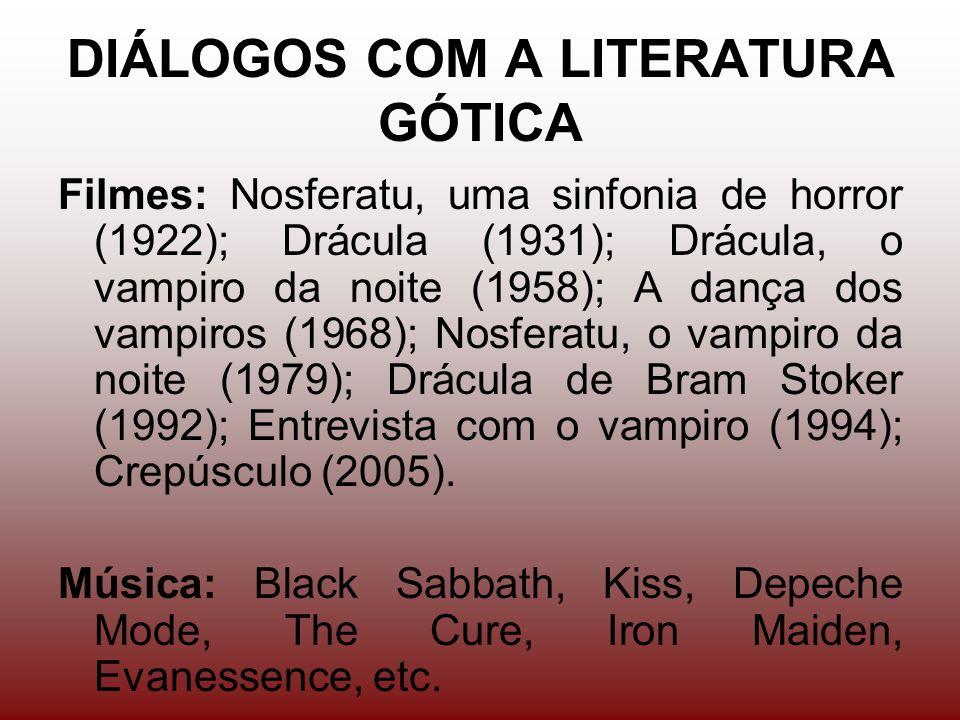 DIÁLOGOS COM A LITERATURA GÓTICA