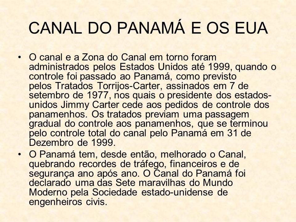 CANAL DO PANAMÁ E OS EUA