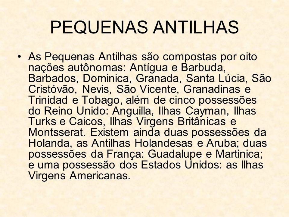 PEQUENAS ANTILHAS